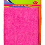 B433_4PC XL Microfibre Cloths